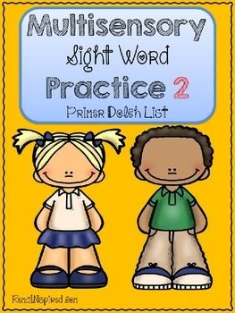 Are you ready to get your students actively engaged in learning their  sight words? Do you have students who learn best through multisensory strategies? Then this sight word packet is for you! This packet contains all words on the Dolch Primer List. Students will write, march, tap, spell and more to practice their sight words.
