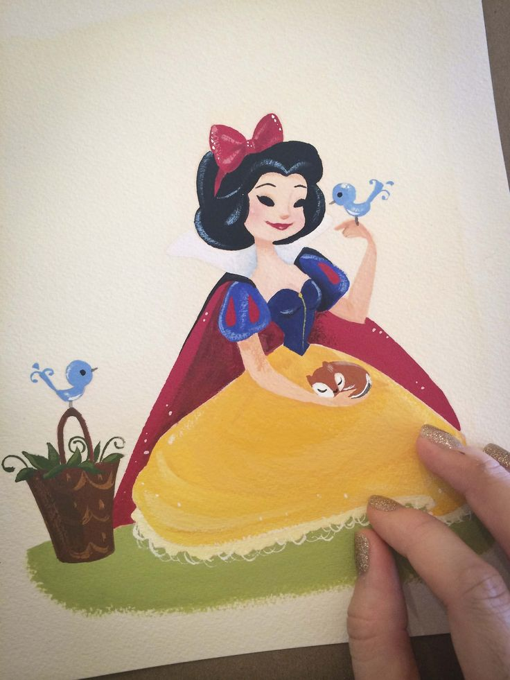 Snow White by Liana Hee