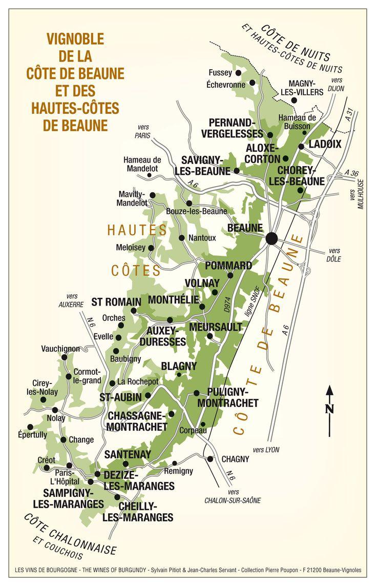 Image result for burgundy map