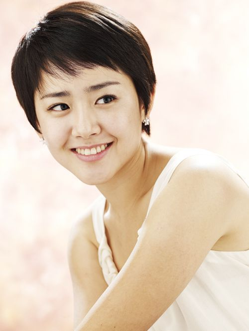 hairstyle of Moon Geum Young....