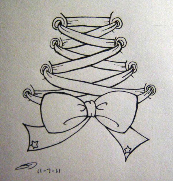 corset drawings   Back Corset Tattoo by o0terabyte0o on deviantART