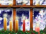 Free Desktop Screensaver - New Year Window Screensaver