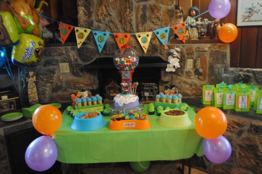 """Photo 2 of 18: Scooby Doo / Birthday """"Caleb is 4!!"""" 