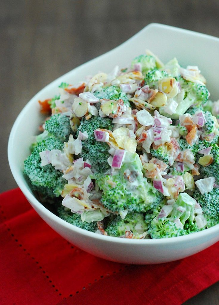 Does broccoli salad sound good to you? Then try this low carb broccoli salad recipe, right now!