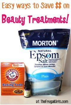 Easy DIY Ways to Save Money on Beauty Treatments! - from TheFrugalGirls.com