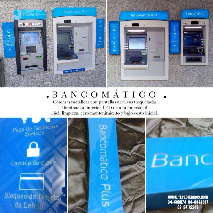 Después de 2 años, hemos vuelto a trabajar con el Banco del Pacífico. Esperamos mejorar perceptiblemente la imagen de los cajeros automáticos #atm #teploteamos @teploteamos #laser #publicidad #guayaquil #ecuador #cajeros #diebold
