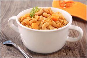 Healthy #slowcooker recipes: Butternut Squash Mac 'n Cheese and Southwest Bean & Corn Soup #vegetarian