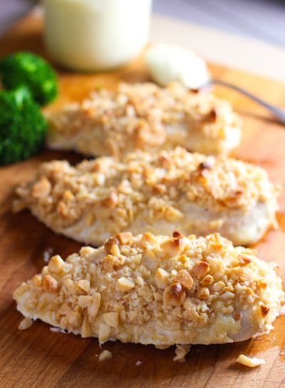 Baked Macadamia Nut Crusted Chicken and #Whole30 Start