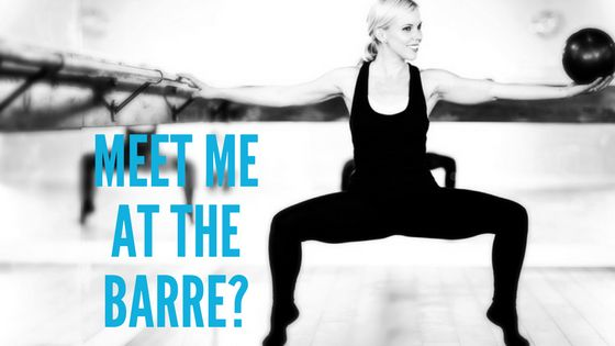 Meet me at the Barre? - Tanya West