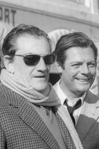 with Marcello Vincenzo Domenico Mastroianni