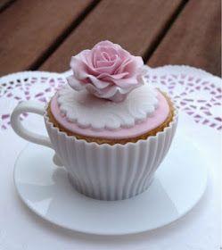 Amor e Açúcar: Dia das Mães: Festival do Cupcake (na xícara!!!!)