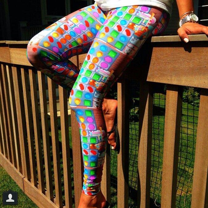 Candy crush saga leggings!