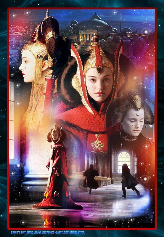 Queen Amidala Poster     http://erikasartzone.wordpress.com/ - credit to: pinterest.com/Erikab1123/star-wars-art-my-fanart/