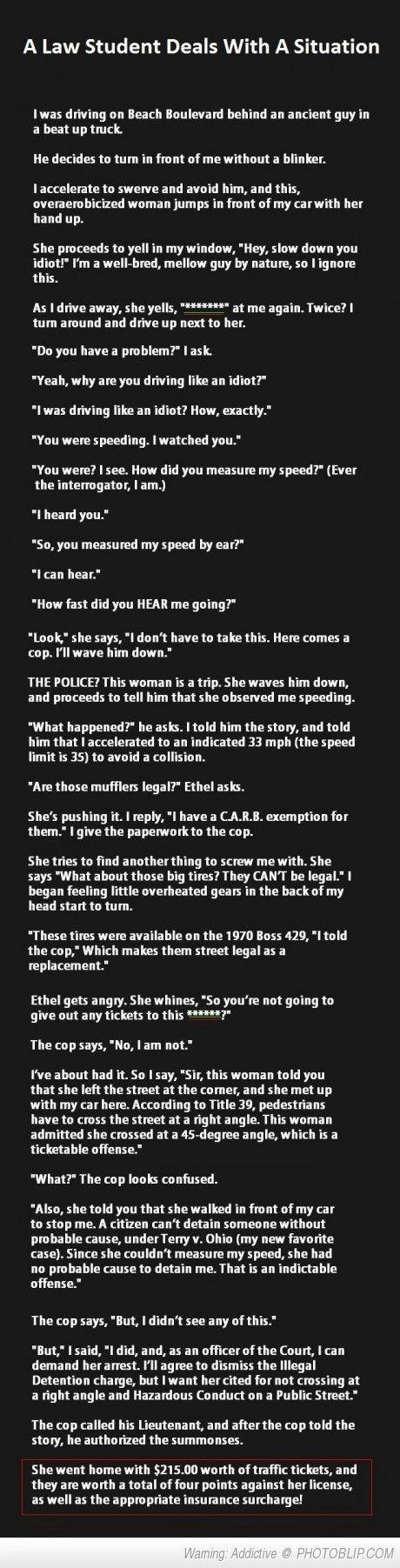 #something #student #genius #woman #tries #mess