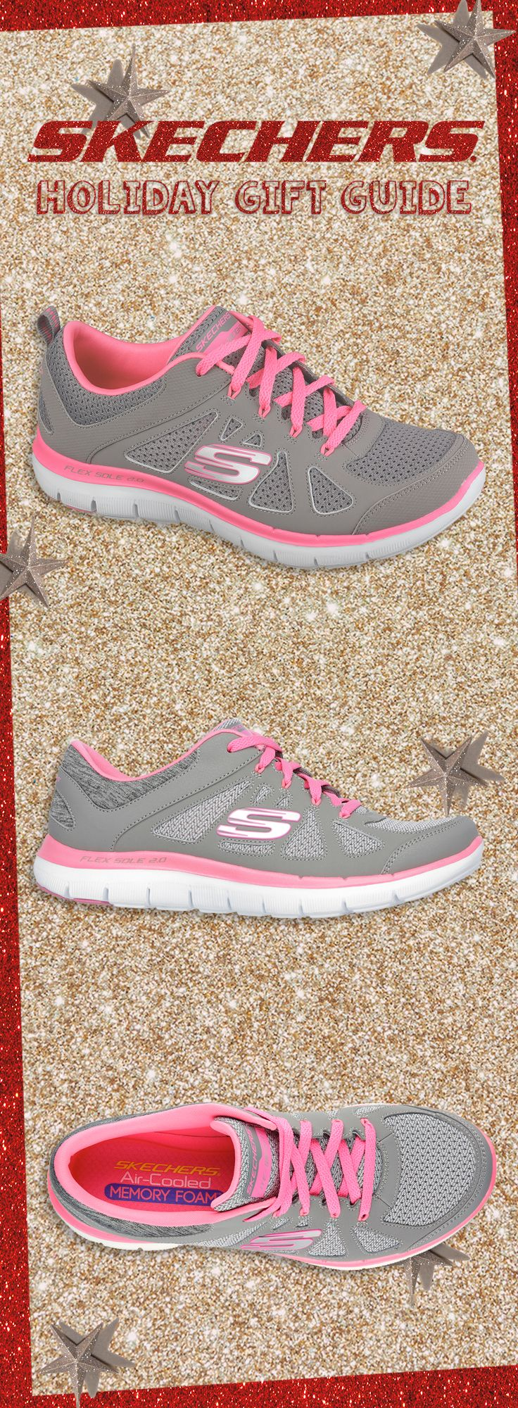 Make your holiday workout better wearing our Flex Appeal 2.0 - Simplistic. #SKECHERSholiday