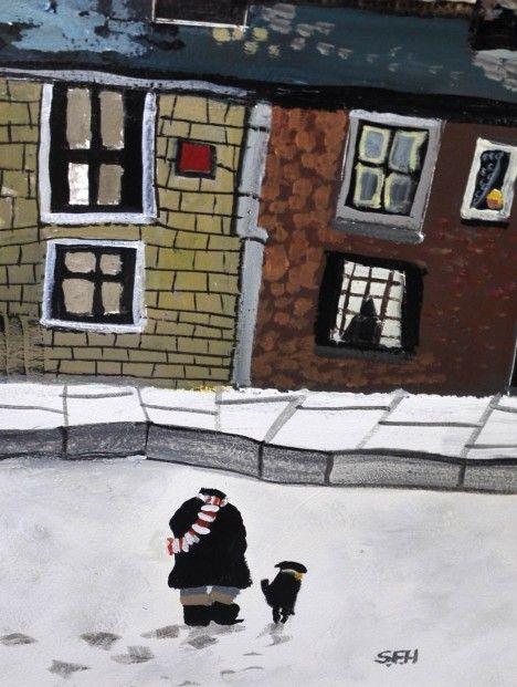 Sue Howells Mum, Dad's Home! Acrylics   Contemporary Art