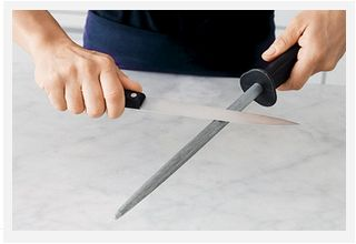 How to sharpen your knives like a professional http://www.taste.com.au/how+to/cooking+tips/articles/6862/how+to+sharpen+your+knives+like+a+professional #knives #cookingtips