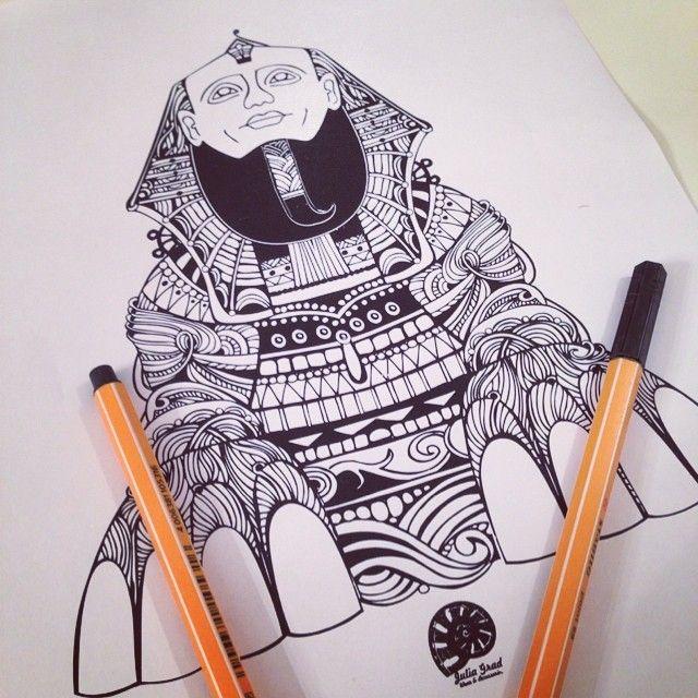 #spinx #tattoo #egypt #mania #love #summer #sketch #draw #lion #print #сфинкс #тату #принт #египет #мода #рисунок
