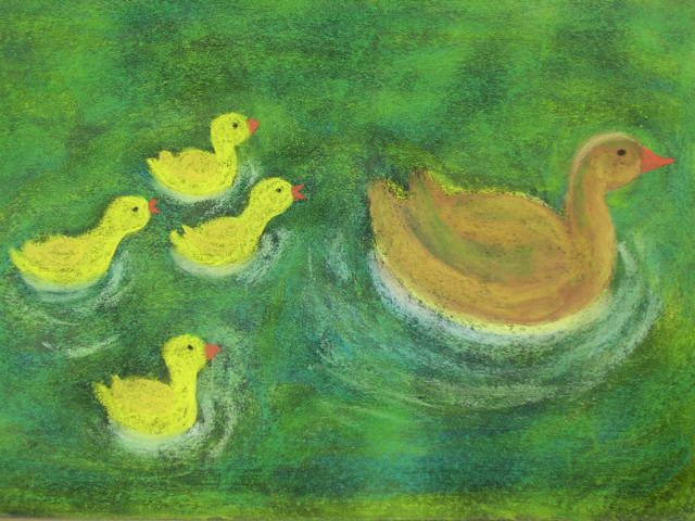 mama duck first grade