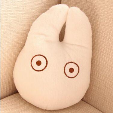 1 pcs Japan Anime Totoro oreiller coussin peluche jouets en peluche Cartoon blanc Totoro noir chat oreillers chat coussin jouet dans En peluche et Animaux En Peluche de Jouets & Loisirs sur AliExpress.com | Alibaba Group