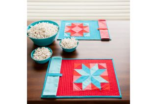 GO! Qube One Block Placemats