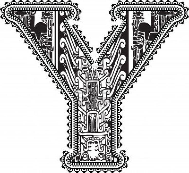 14656962-ancient-letter-y-vector-illustration.jpg (400×