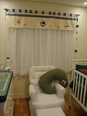 Vivian Lulai: Decoração com tema Futebol para quarto de Bebê #nursery