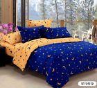 Duvet Cover Pillow Case Quilt Cover Bed Set Single Double King Size Blue L Star