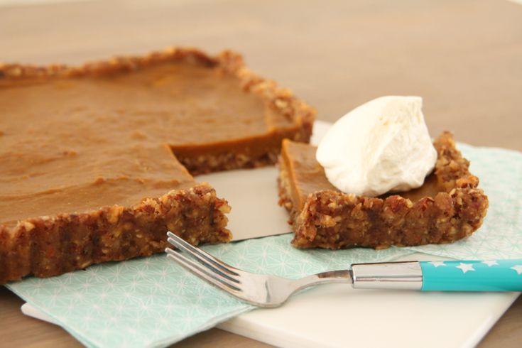 In Amerika zijn ze gek op pumpkin pie. Nu de herfst is ingetreden en Halloween eraan komt zie ik dan ook weer vele pumpkin pie recepten voorbijkomen op Amerikaanse blogs. Als groot pompoenliefhebbe...