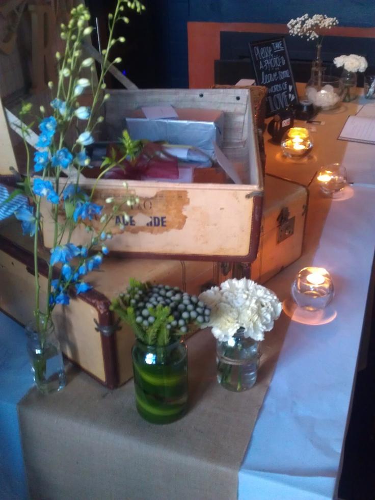Table Decorations by St Annes Florist
