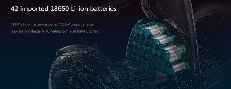 Xiaomi Ninebot Plus N4M340 11 inch Electric Bluetooth Self Balancing Scooter 400W x 2 18km/h Max Speed
