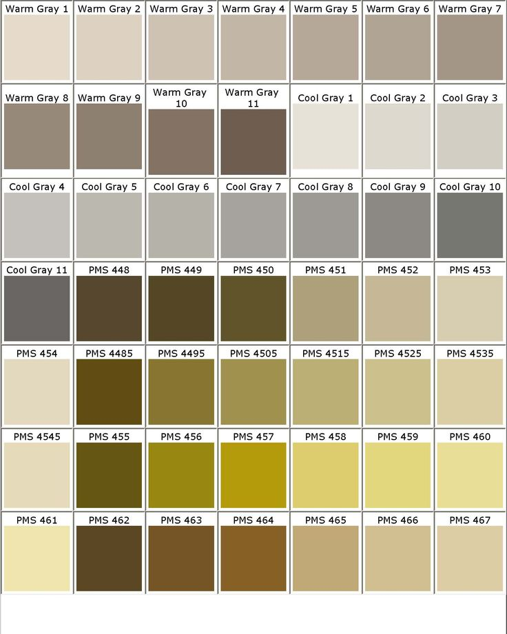 17 Best Color Chart Images On Pinterest | Colors, Pantone Colours