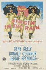 『雨に唄えば』(1952年、日本公開53年) 監督:ジーン・ケリー、スタンリー・ドーネン 主演:ジーン・ケリー、デビー・レイノルズ 大山恭彦氏所蔵