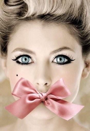 speachless: Eye Makeup, Cat Eye, Pink Bows, Blue Eye, Makeup Eye, Eyemakeup, Big Eye, Dolls Faces, Lips Rouge