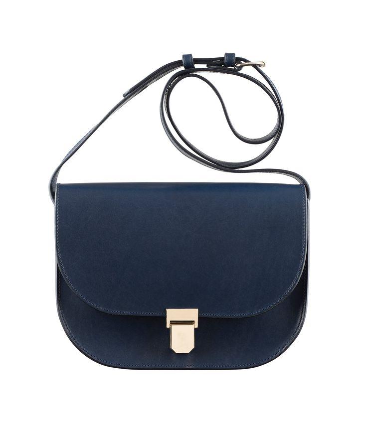 classic satchel - Black A.P.C. liBBP2SE