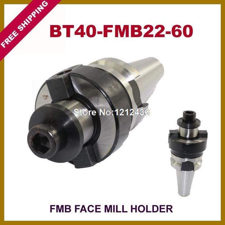 Free Shipping BT40-FMB22-60 Face Mill Toolholder System Working On CNC Milling Machine