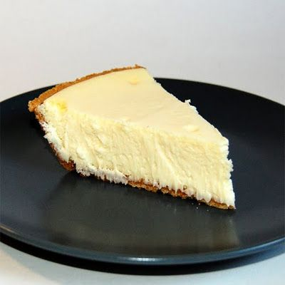 Delicious simple cheesecake recipe. I added ~1tsp of lemon juice