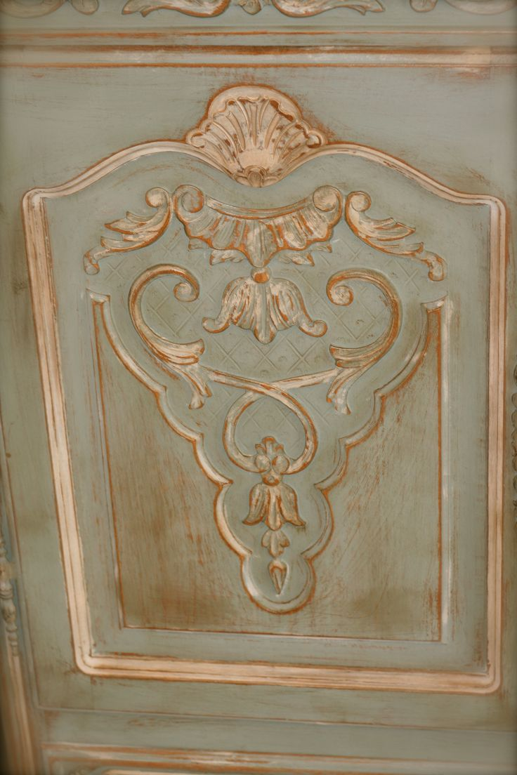 Faux painting furniture ideas - Duck Egg Blue Heavily Distressed With Old White Highlights Clear And Dark Wax