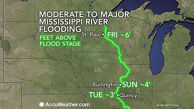 Mississippi River Flooding to Impact Communities, Port Operations | TheSurvivalPlaceBlog