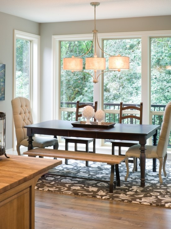 Mixed Dining Room Chairs Design,