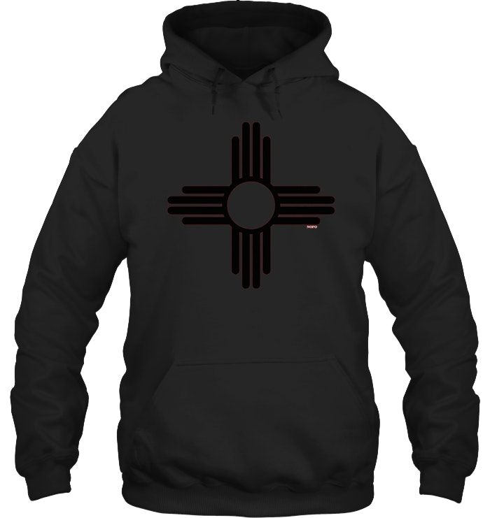 New Mexico Zia Sun Symbol T Shirt Pullover Hoodie Men Women Hoodies Men Pullover Hoodies Hoodie Print