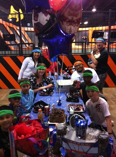 With an Urban Air Birthday Party we take care of