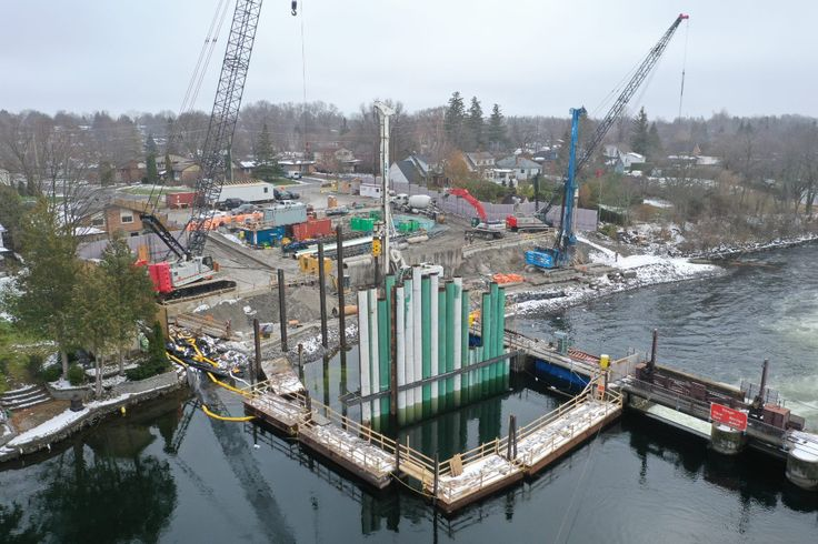 ON Construction to resume on Scotts Mills Dam in