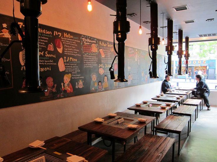 14 best Korean restaurant interiors images on Pinterest