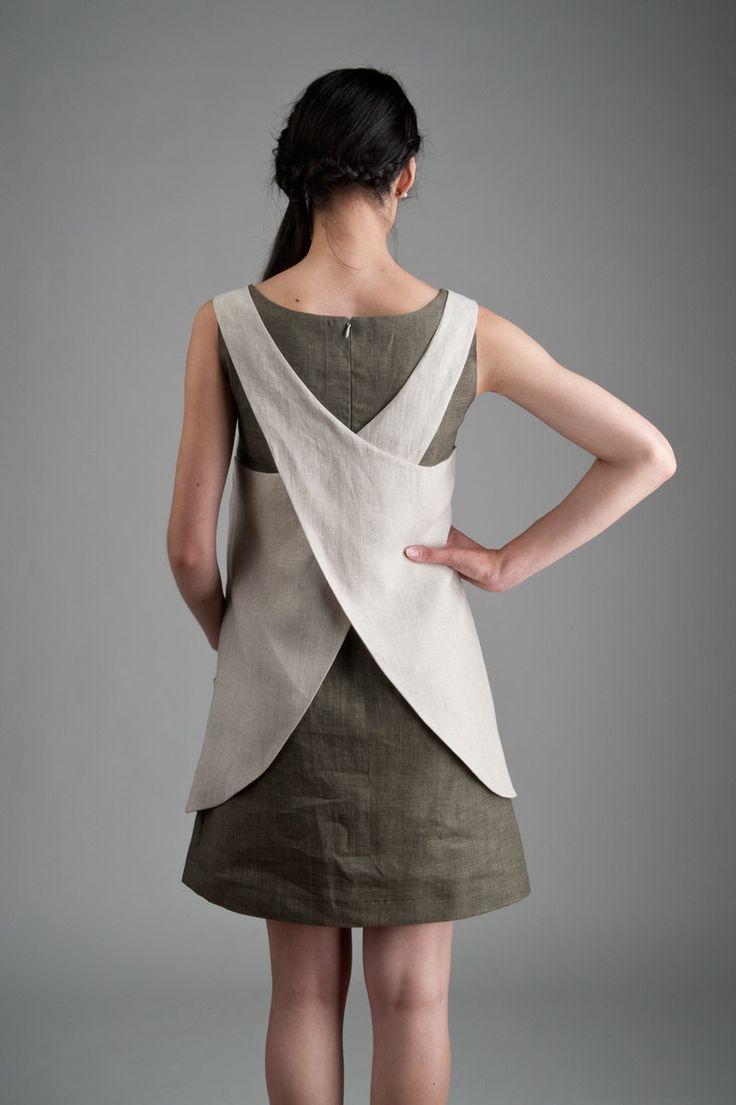 платье фартук спицами для девочки