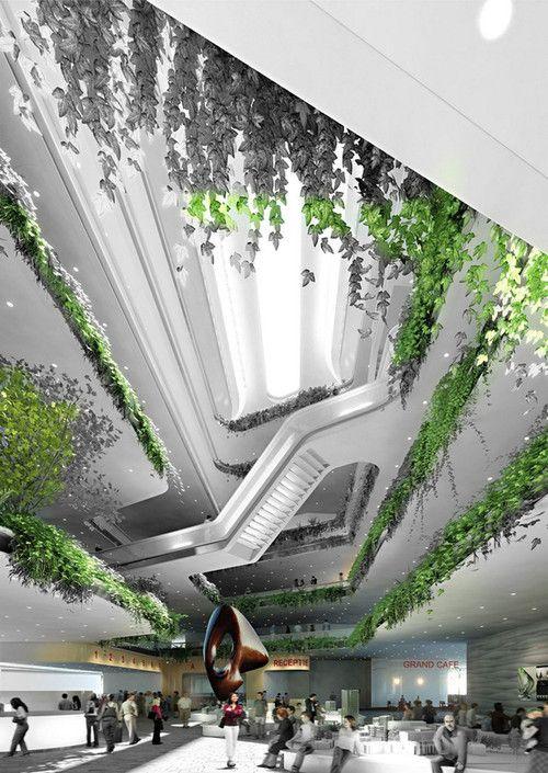 M-City, futuristic architecture, Vladimir Plotkin, Roberto Meyer, futurist city