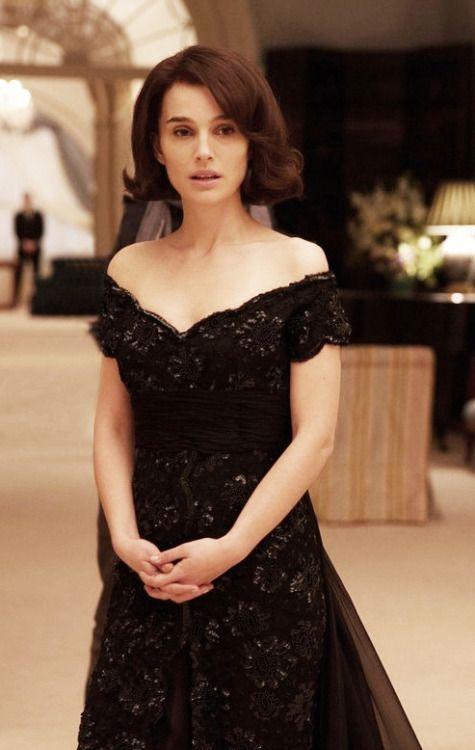 Vanity Fair still of Natalie Portman in Jackie (2016) dir. Pablo Larraín.