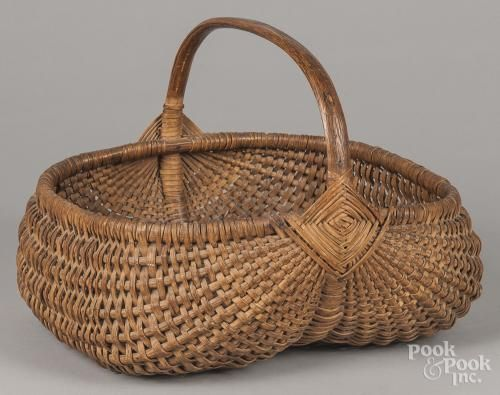 850 Best Antique Baskets American Made Images On Pinterest