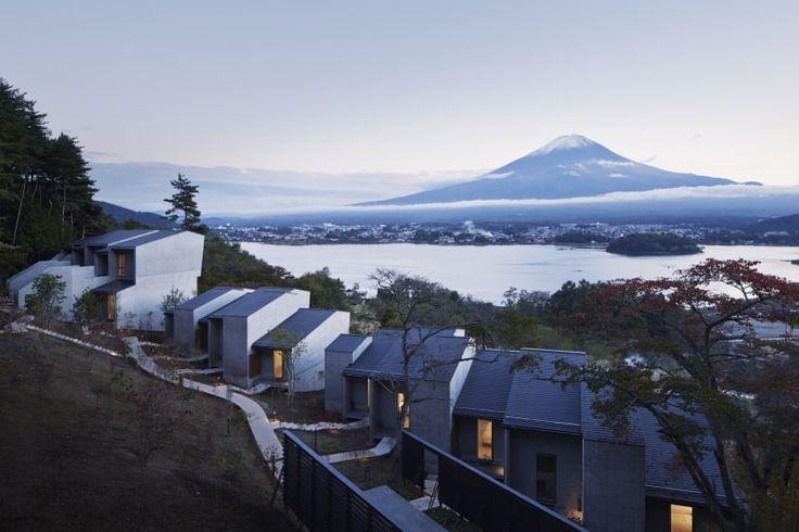Azuma Architect & Associates, studio on site, Nacasa & Partners Inc., Yoshida Photo Studio · Hoshinoya Fuji
