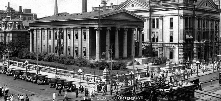 History of Dayton, Ohio ~ Old Courthouse ~ Presidents Lincoln & Kennedy spoke on the front steps.